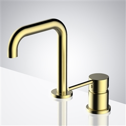 Brushed Gold Automatic Electronic Hands Free Faucets