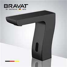 Bravat Commercial Oil Rubbed Bronze Automatic Hands Free Motion Sensor Faucet