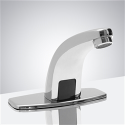 Fontana Milan Commercial Dark Oil Rubbed Bronze Automatic Hands Free Faucet