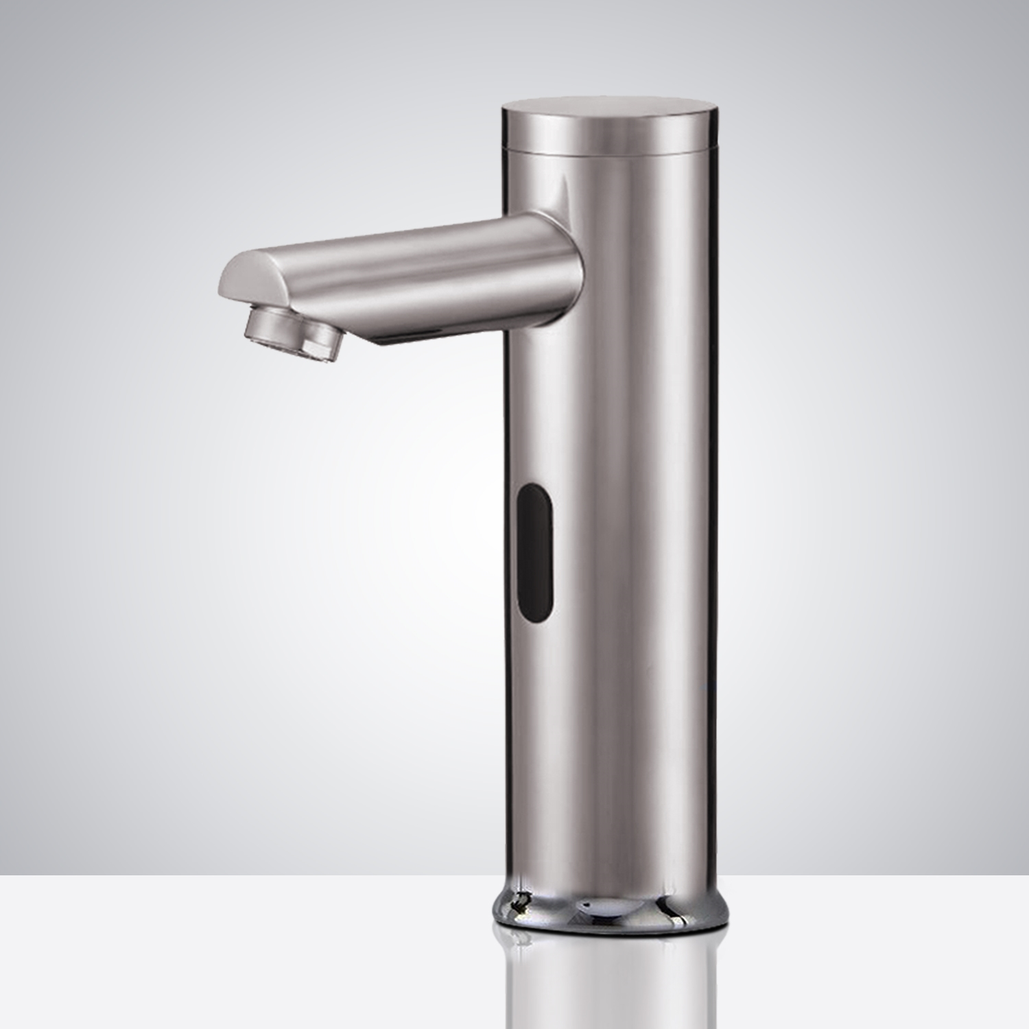 Fontana Brushed Nickel Commercial Thermostatic Automatic Sensor Solid Brass Faucet