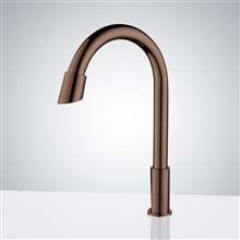 Fontana Rio Goose Neck Commercial Automatic Sensor Faucet Oil Rubbed Bronze Finish