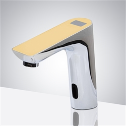 Fontana Napoli Commercial Digital Display Yellow Top Automatic Sensor Faucet
