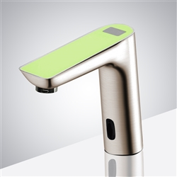 Fontana Napoli Commercial Infrared Automatic Sensor Faucet with Digital Display
