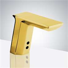 Fontana Peru Commercial Motion Sensor Activated Automatic Faucet Brass Valve Gold Finish