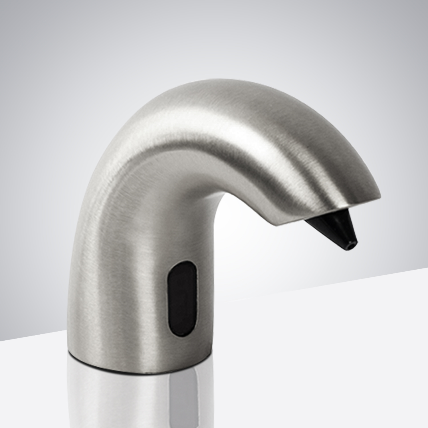 Fontana Peru Commercial Electronic Sensor Soap Dispenser In Satin Nickel Finish