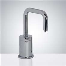 Fontana Peru Commercial Polished Chrome Deck Mount Touchless Electronic Soap Dispenser