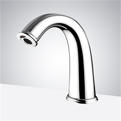 Fontana Texas Commercial Deck Mount Chrome Finish Automatic Sensor Faucet