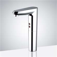 Fontana Rio Deck Mount Chrome Commercial Automatic Sensor Faucet