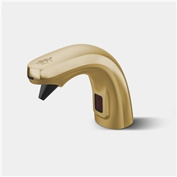 Fontana Commercial Automatic Brushed Gold Liquid Foam Soap Dispenser