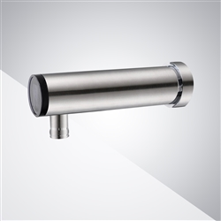 Fontana Brushed Nickel Wall Mount Commercial Automatic Sensor Faucet With Insight Infrared Technology