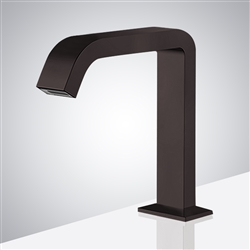 Fontana Commercial Dark Oil Rubbed Bronze Touch less Automatic Sensor Hands Free Faucet