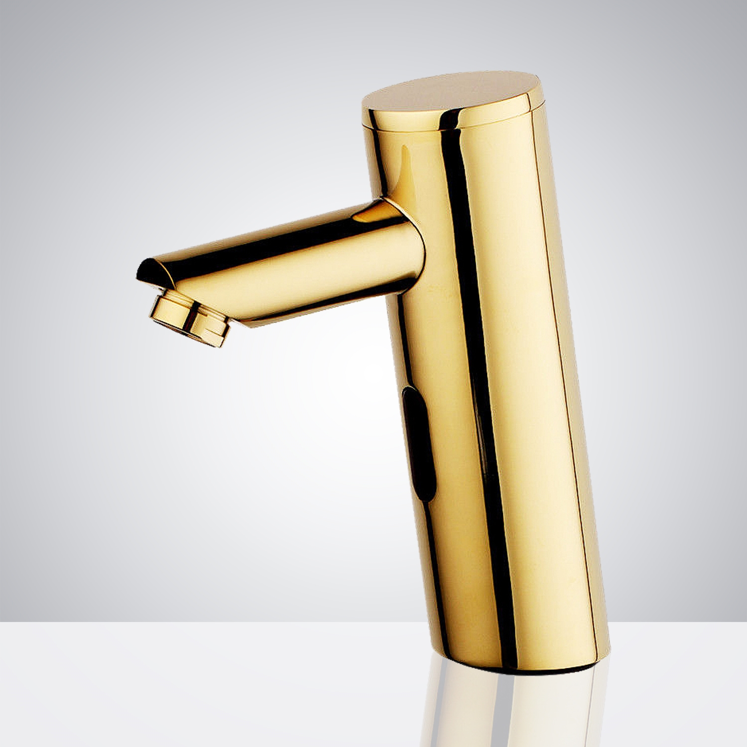Fontana Rio Commercial Shiny Gold Finish Infrared Automatic Motion Sensor Faucet