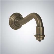 Wall Mounted Automatic Soap Dispenser Antique Brass Finish