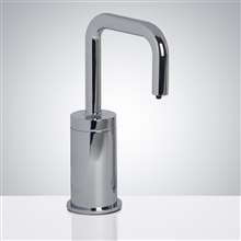 Fontana Trio Commercial Polished Chrome Deck Mount Automatic Electronic Soap Dispenser