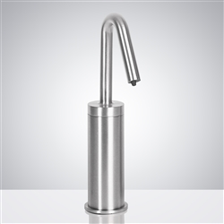 Fontana Milan Commercial Chrome Touch Free Automatic Sensor Soap Dispenser