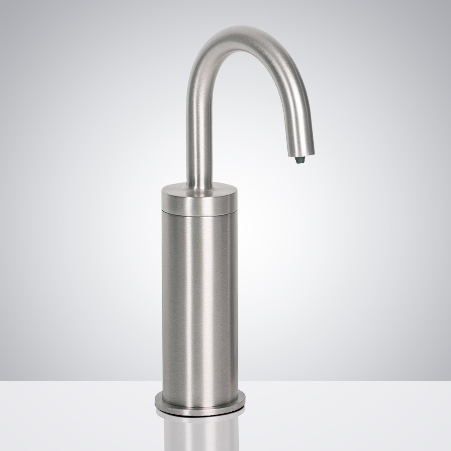 Fontana Atlanta Commercial Brushed Chrome Deck Mount Automatic Touchless Soap Dispenser