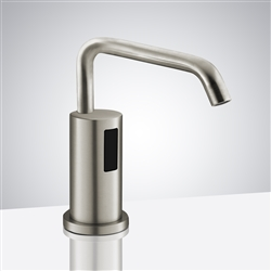 Fontana Brushed Nickel Automatic Sensor Deck Mounted Commercial Liquid Foam Soap Dispenser