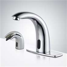 Fontana Lyon Battery Operated Auto Faucet with Soap Dispenser