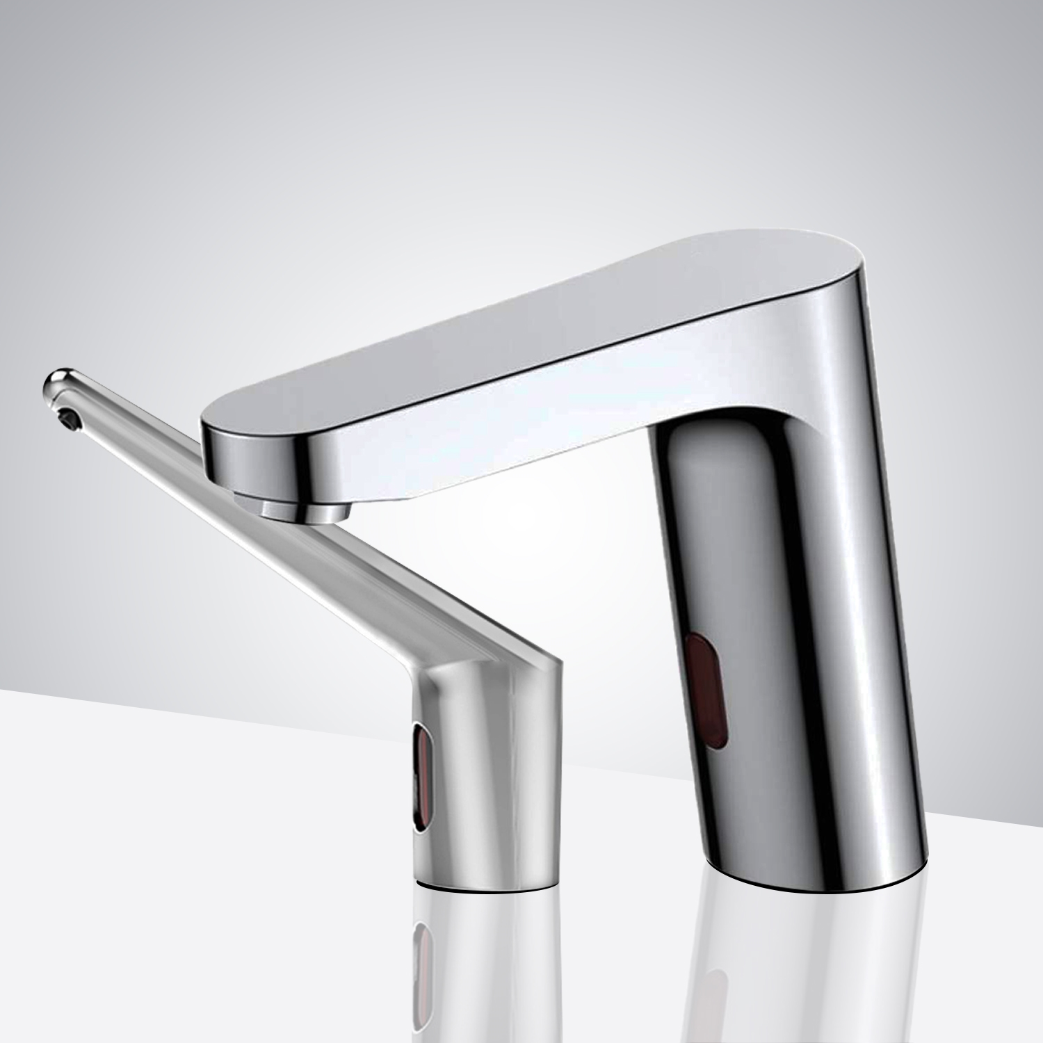 Fontana Bavaria Motion Sensor Faucet & Automatic Soap Dispenser for Restrooms