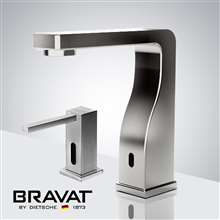 Fontana Marseille Freestanding Automatic Commercial Sensor Faucet & Automatic Soap Dispenser