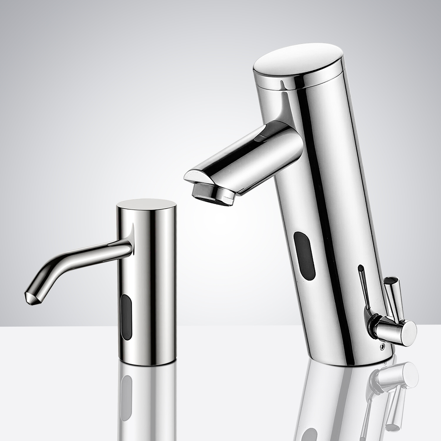 Fontana Sète Motion Sensor Faucet & Automatic Soap Dispenser for Restrooms