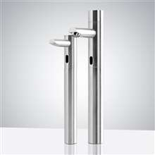 Fontana Geneva Standing Motion Sensor Faucet & Touchless Automatic Soap Dispenser for Restrooms