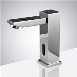 Fontana Verona Cold & Hot Chrome Finish Touchless Bathroom Faucet