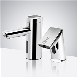 Fontana Hands-Free Motion Sensor Faucet & Automatic Soap Dispenser for Restrooms