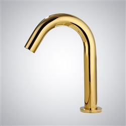 Fontana Denver Commercial Hands Free Gold Automatic Sensor Faucet