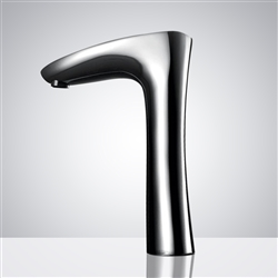 Fontana Milan Commercial Automatic Cutting-Edge Intelligent Digital Touch Faucet
