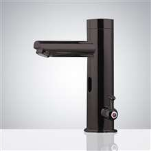 Fontana Commercial Temperature Control All-in-one Thermostatic Sensor Faucet Black Finish