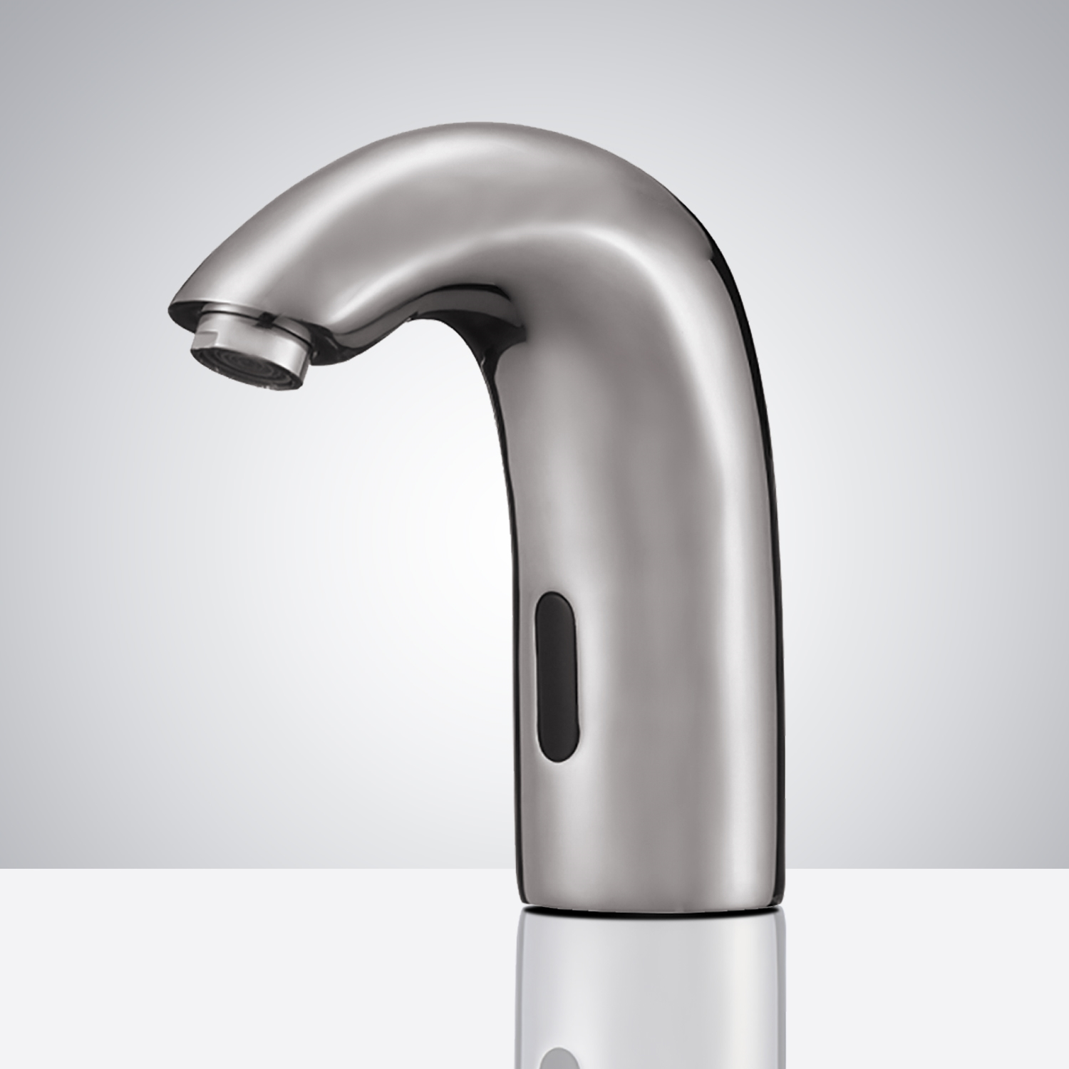 Fontana Brushed Nickel Commercial Automatic Hands Free Sensor Faucet