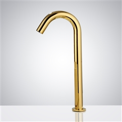 Fontana Texas Commercial Gold Finish Automatic Sensor Faucet