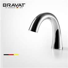 Bravat Chrome Finish Commercial Automatic Electronic Sensor Faucet
