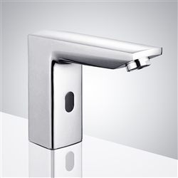 Fontana Lima Commercial Chrome Automatic Sensor Sink Faucet