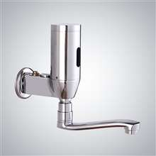 Fontana Denver Commercial Wall Mounted Brass Automatic Sensor Bathroom Faucet H
