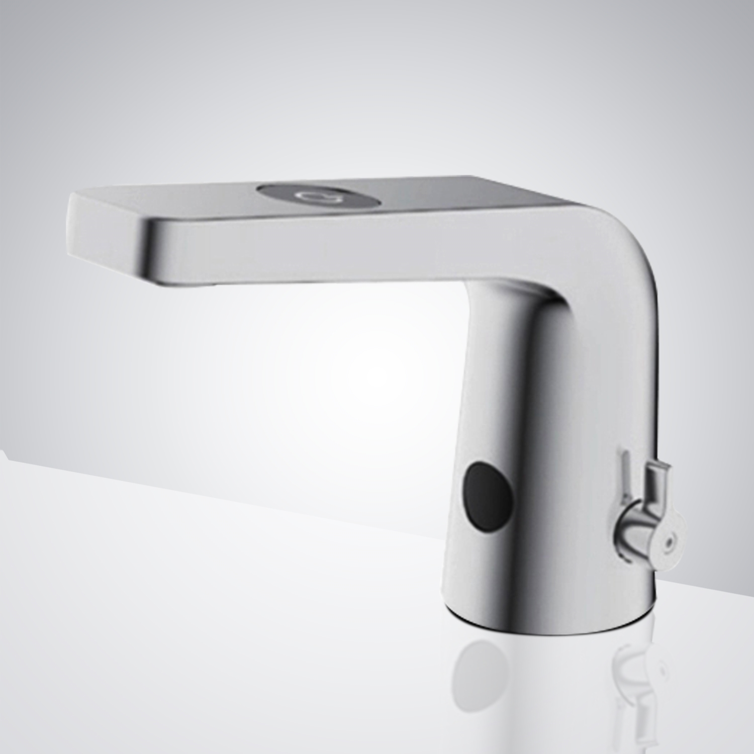 Fontana Reno Commercial Temperature Control Chrome Automatic Infra-Red Sensor Sink Faucet