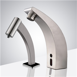 Fontana Milan Commercial Infrared Automatic Sensor Faucet and Soap Dispenser
