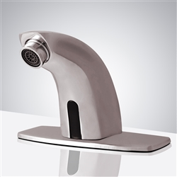 Fontana Mira Brushed Nickel Commercial Automatic Motion Sensor Faucet