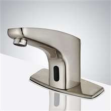 Fontana Milan Brushed Nickel Commercial Automatic Motion Sensor Faucet