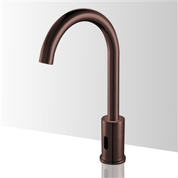 Fontana Sierra Goose Neck Commercial Automatic Oil Rubbed Bronze Sensor Faucet