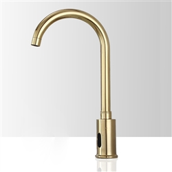 Fontana Napoli Commercial Automatic Gold Motion Sensor Faucet