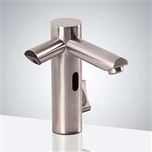 Fontana Lima Commercial Dual Automatic Sensor Faucet with Sensor Soap Dispenser
