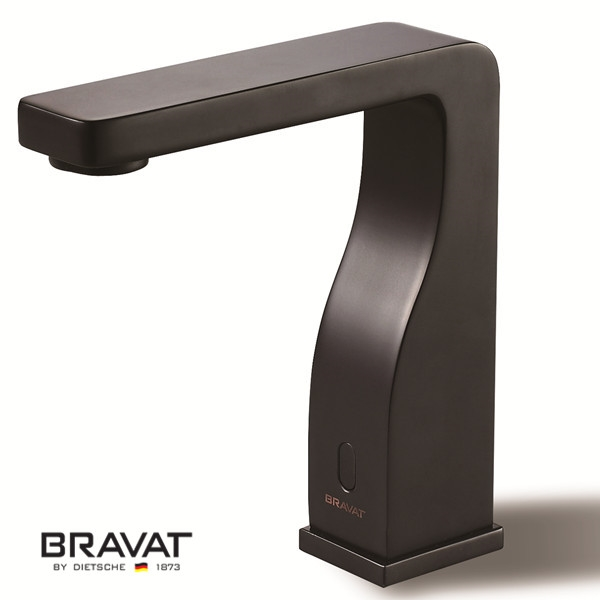 Oil Rubbed Bronze Contemporary Touchless Bathroom Faucets