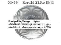 Adler Royal Herald Elite 10/12 Printwheel