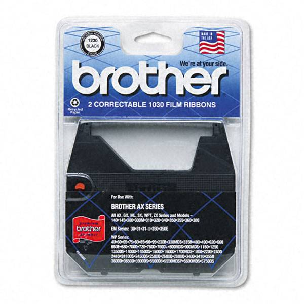 1030 Brother AX 10 Correctable Typewriter Ribbon