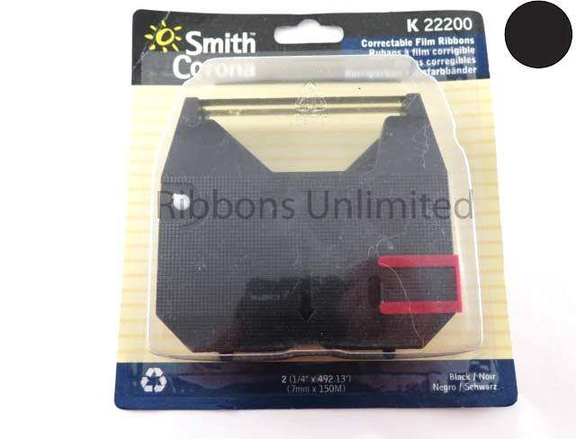22200 Smith Corona K Series Typewriter Ribbon 2Pk
