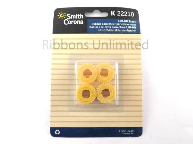 22210 Smith Corona K Series Lift Off Tape 2 Pack