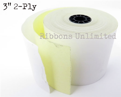 223001 3 2Ply White Canary Paper Roll
