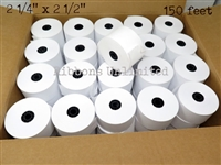 2 1/4 x 2 1/2 150 feet Thermal Paper Roll 50CT